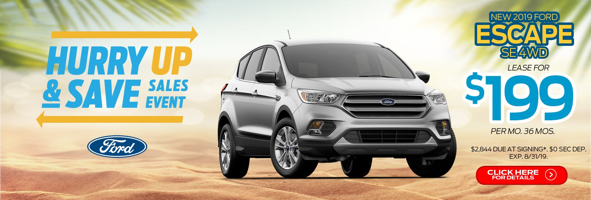 Ford Escape Lease >> Ford Lease Specials